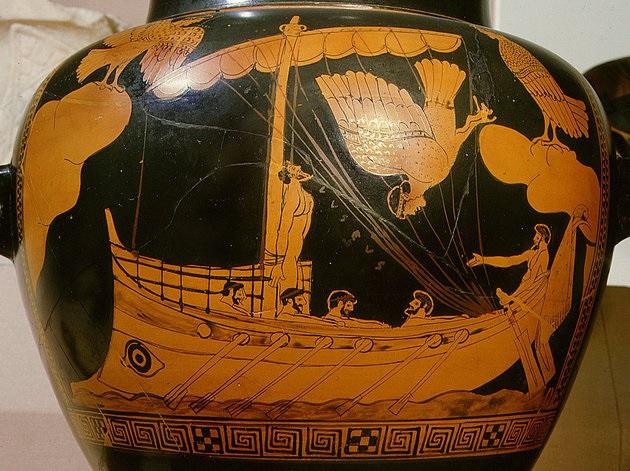 Antigo vaso grego
