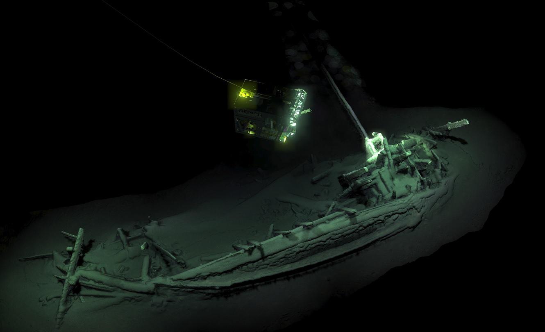Embarcação naufragada