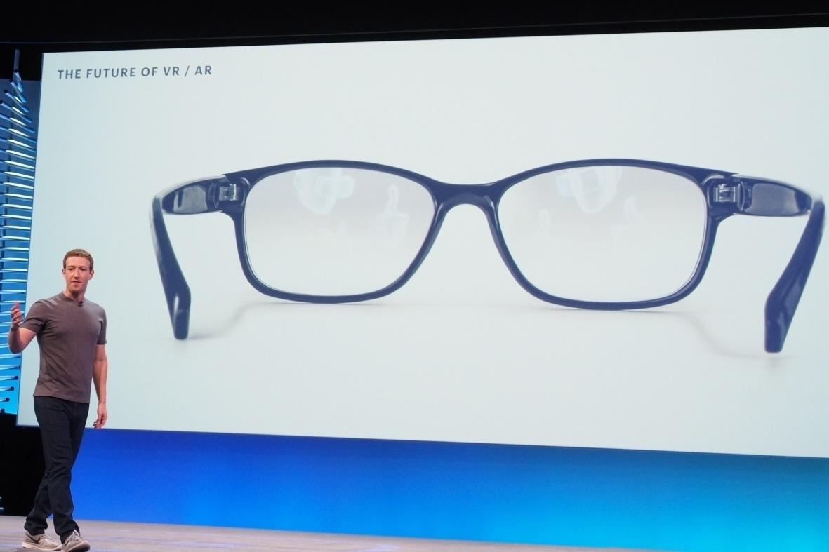 e4204fdd8795b Facebook revela estar trabalhando em óculos de realidade aumentada