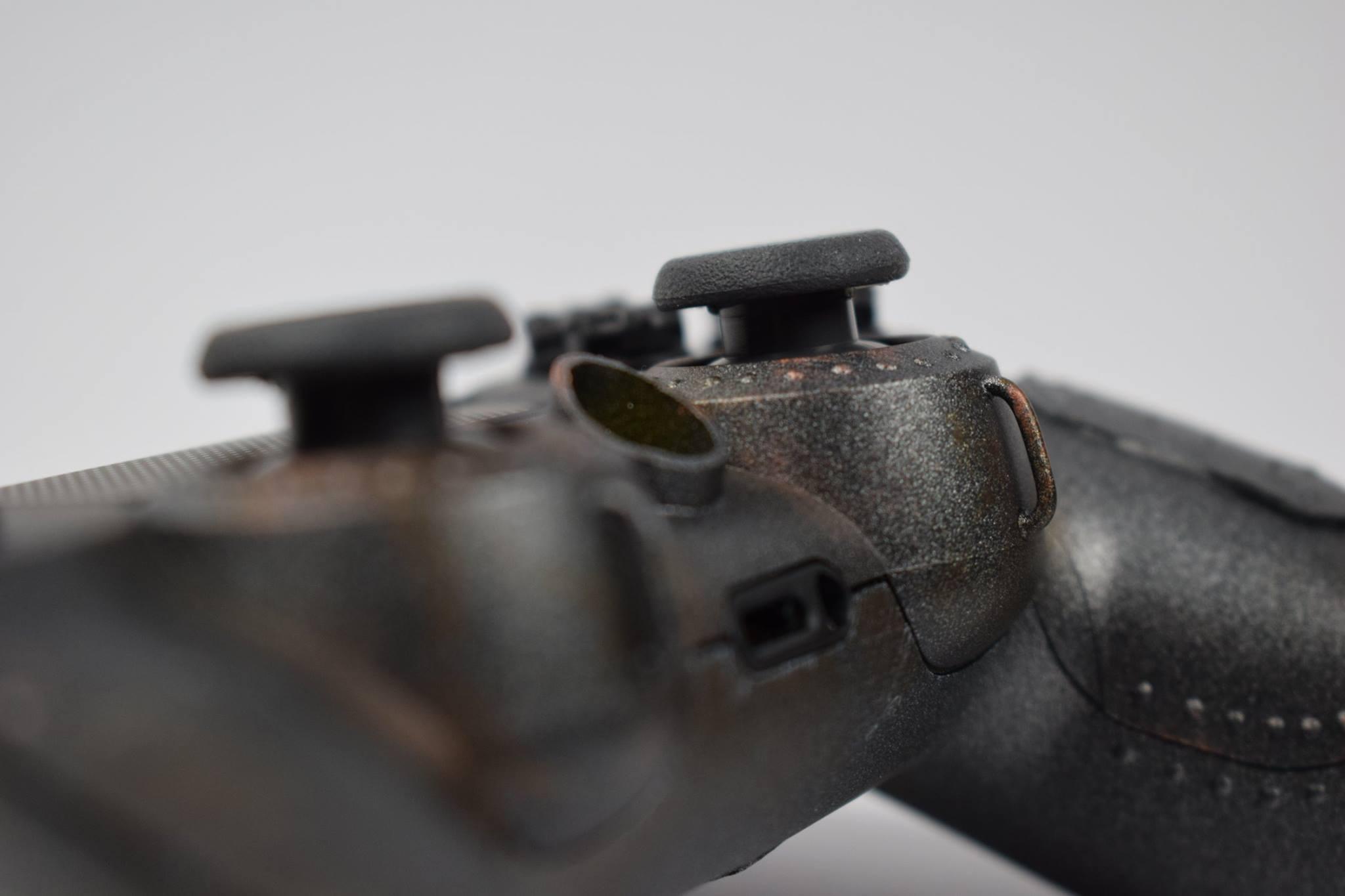 Veja o DualShock 4 personalizado para se parecer um Power Armor de Fallout