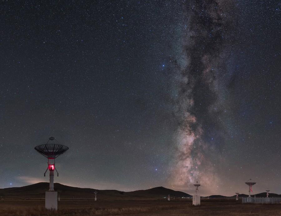 Antenas na Mongólia