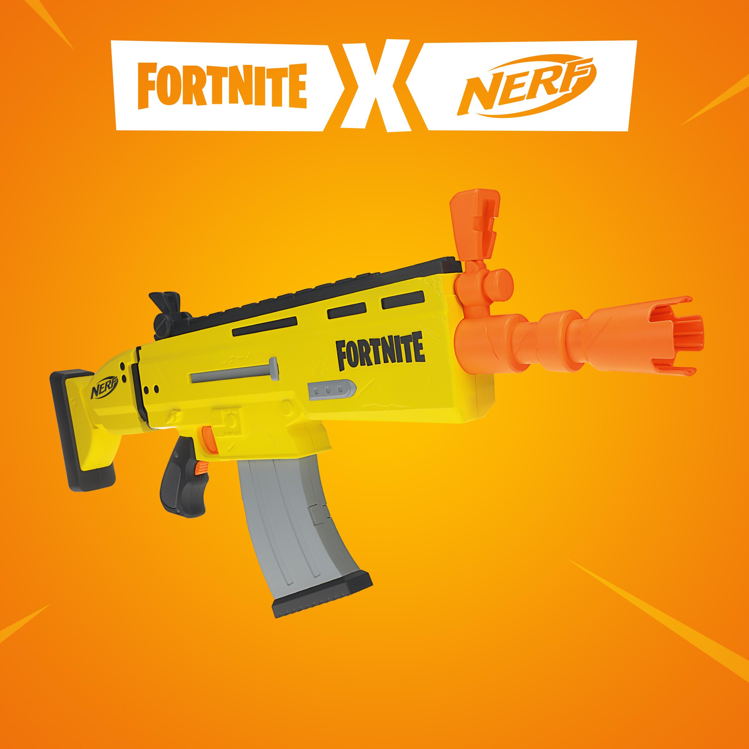 Fortnite: Nerf lançará versão de brinquedo da arma AR-L Blaster