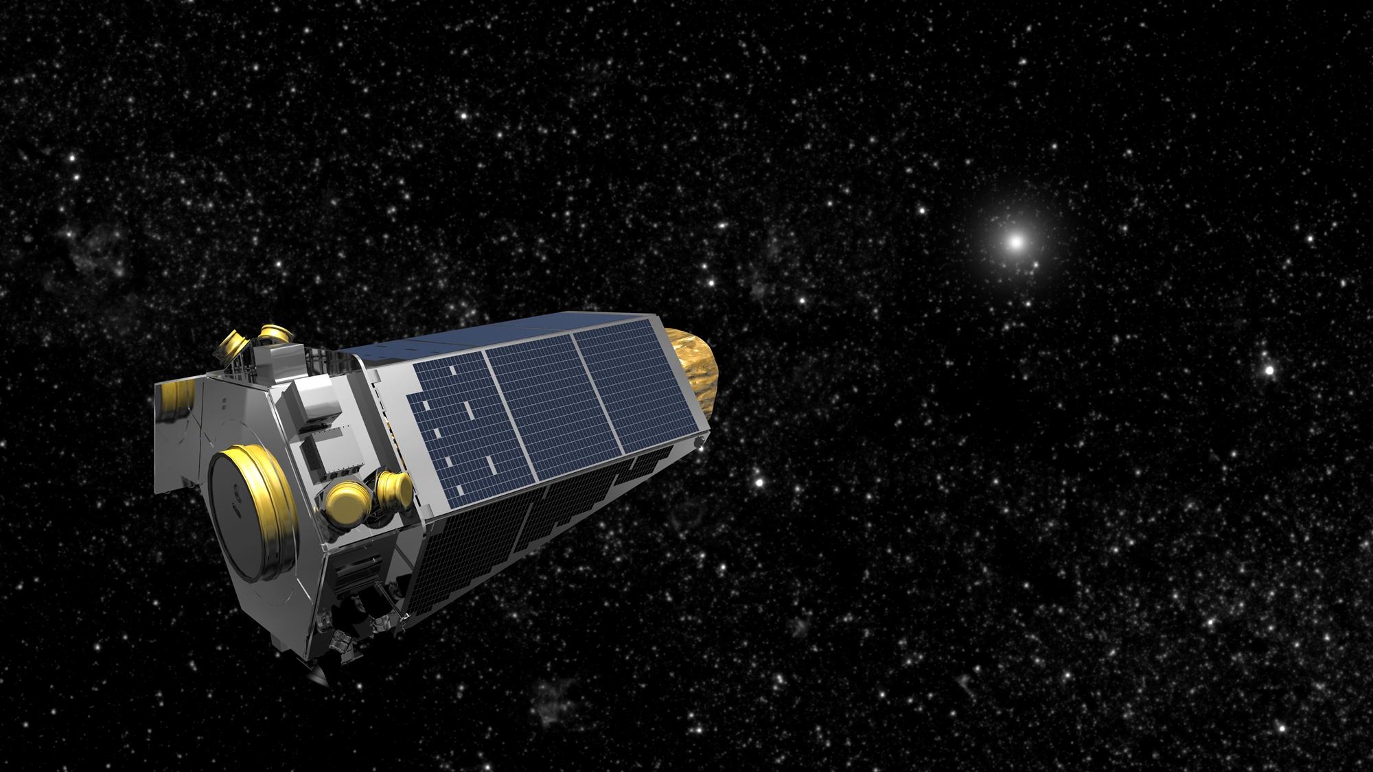 3893c95d2 Sem combustível, telescópio Kepler tem 'morte' decretada pela NASA