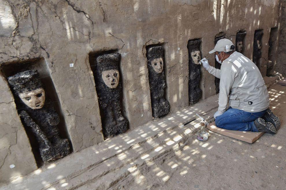 Estátuas pré colombianas