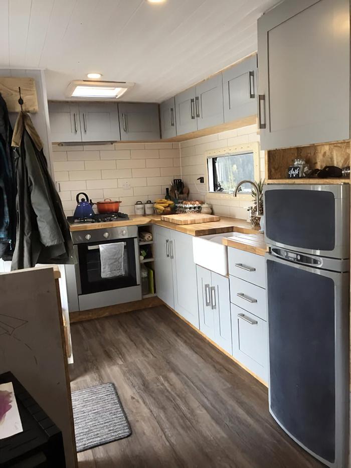 Cozinha compacta