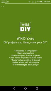 DIY projects - wikiDIY.org - Imagem 2 do software
