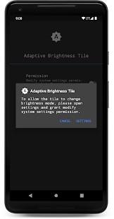 Adaptive Brightness Tile - Imagem 2 do software