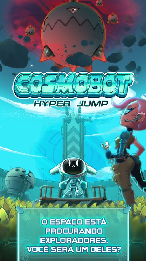 Cosmobot – Hyper Jump - Imagem 1 do software
