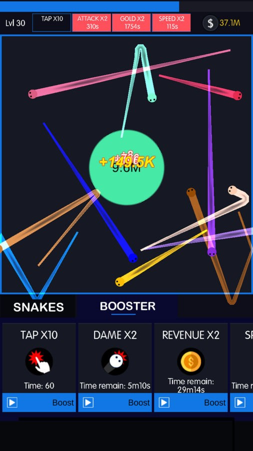 Idle Snakes - Imagem 1 do software