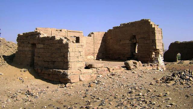 Ruína egípcia