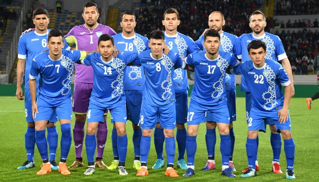 seleção uzbeque