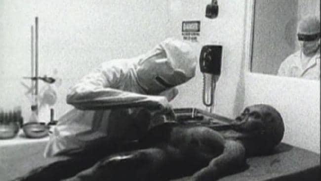 Autopsia de alien