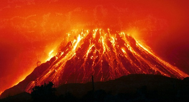 Erupção vulcânica