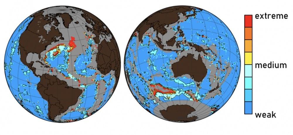 Estudo dos oceanos