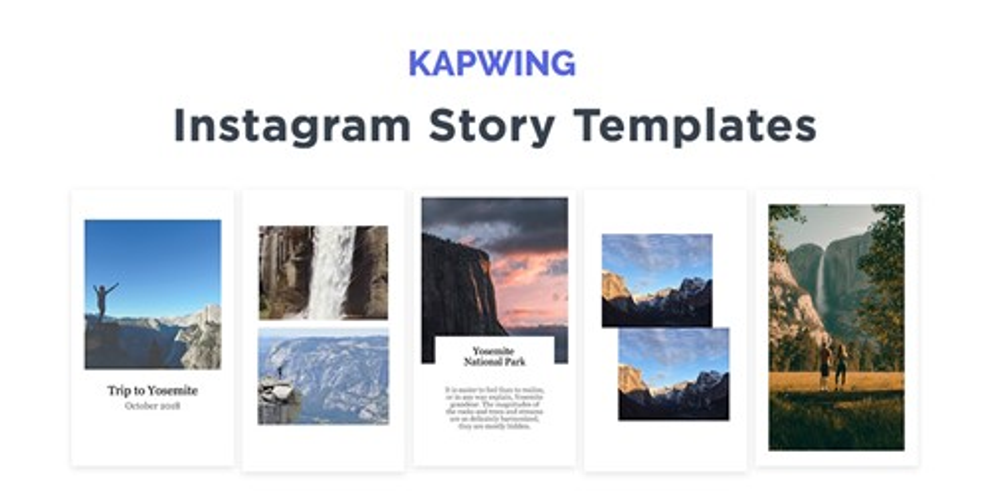 Kapwing Instagram Story Templates