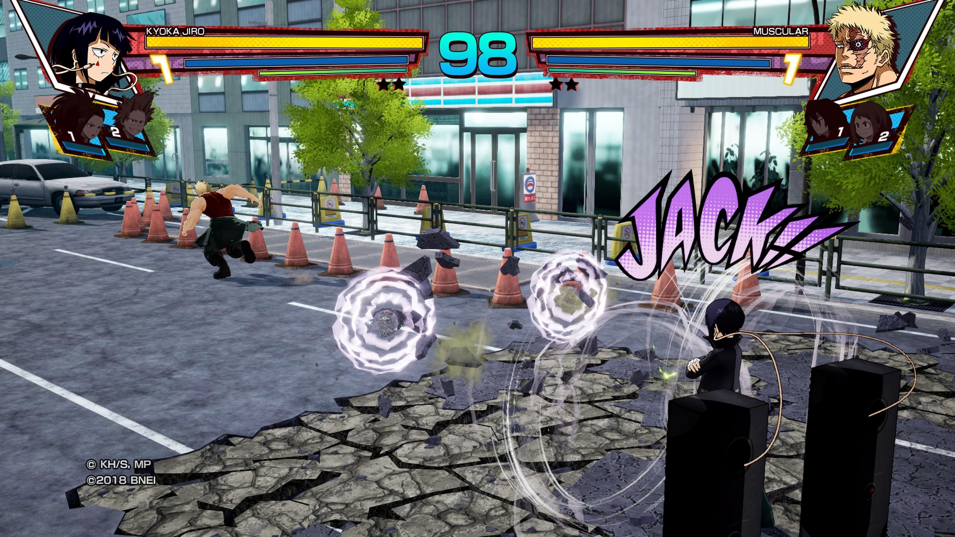 My Hero: One's Justice não tira 10, mas passa de ano no Colégio U.A.
