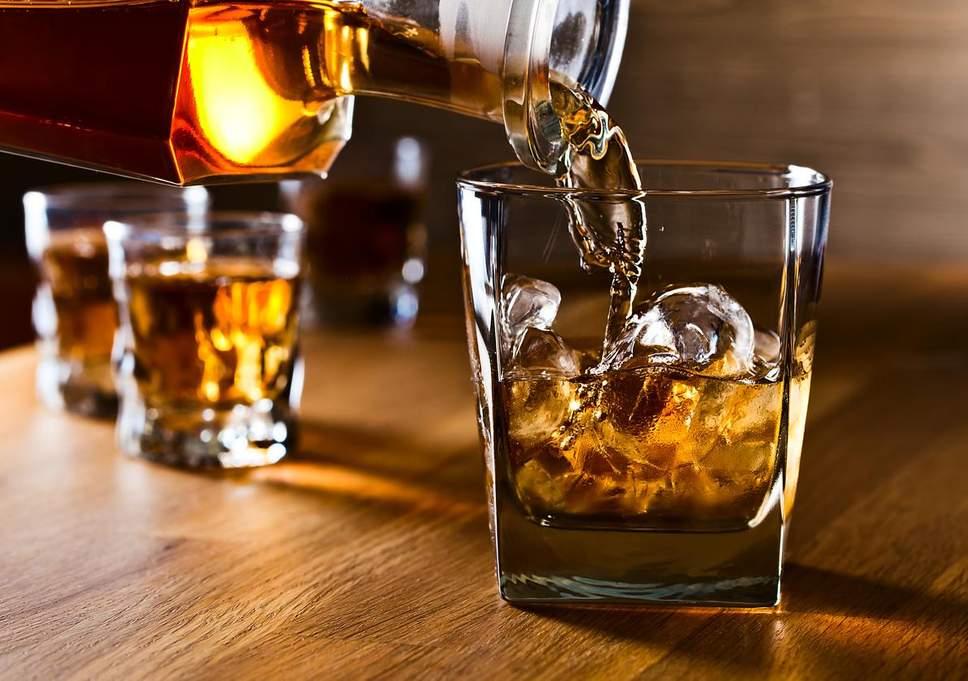 Uma dose de whisky