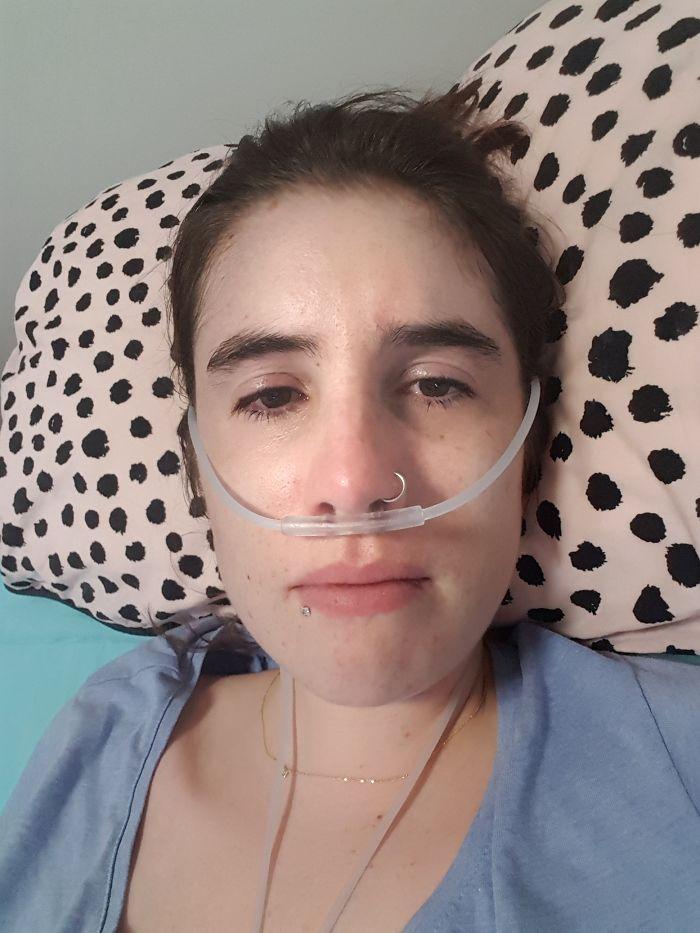 Mulher com doença incurável