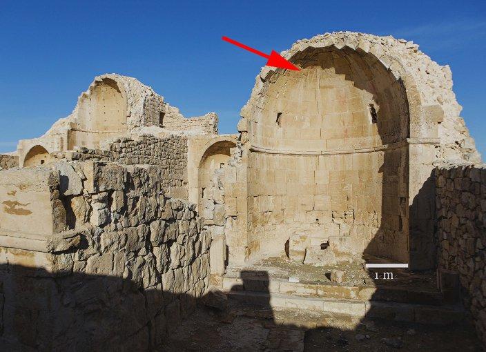 Ruínas de Igreja em Israel