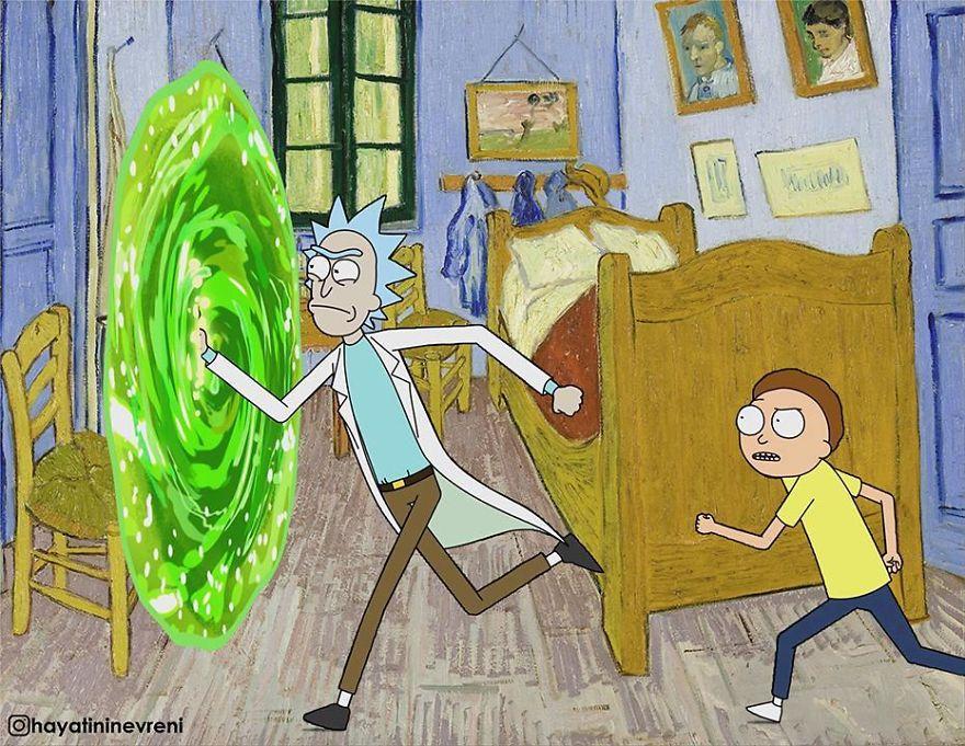 Portal de Rick e Morty