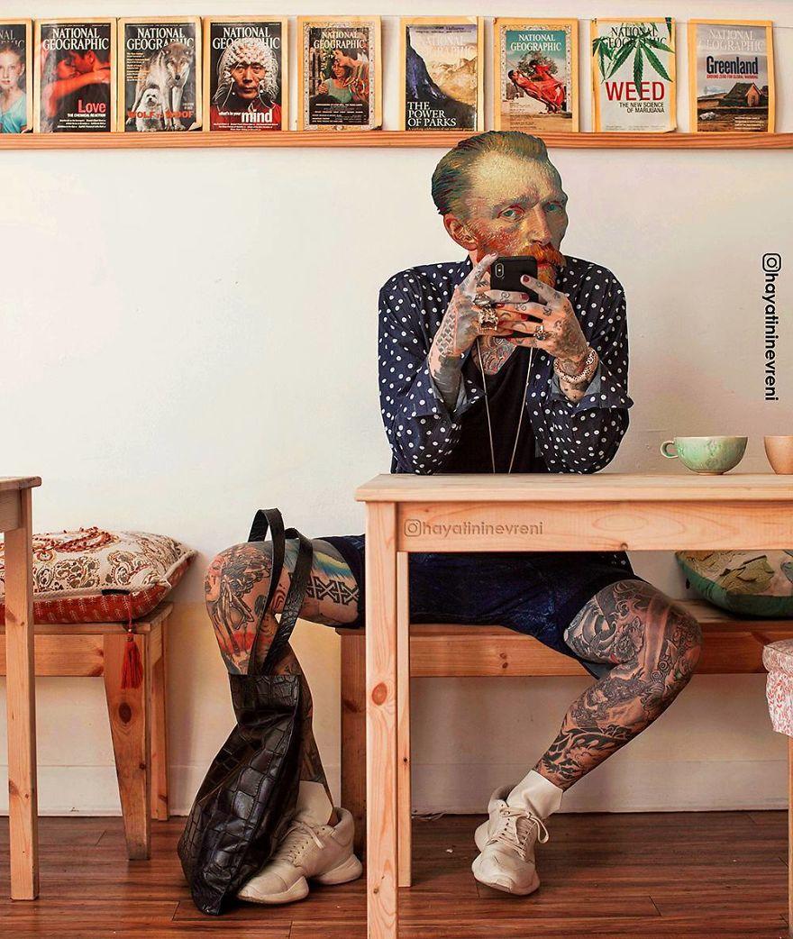 Van Gogh tatuado