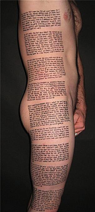 Tatuagem desastrosa