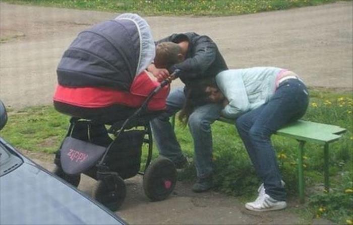Pais exaustos