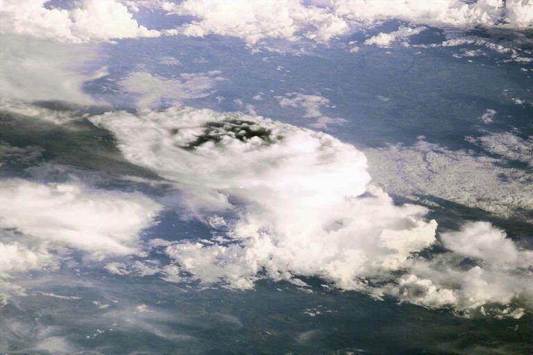 Foto feita do espaço