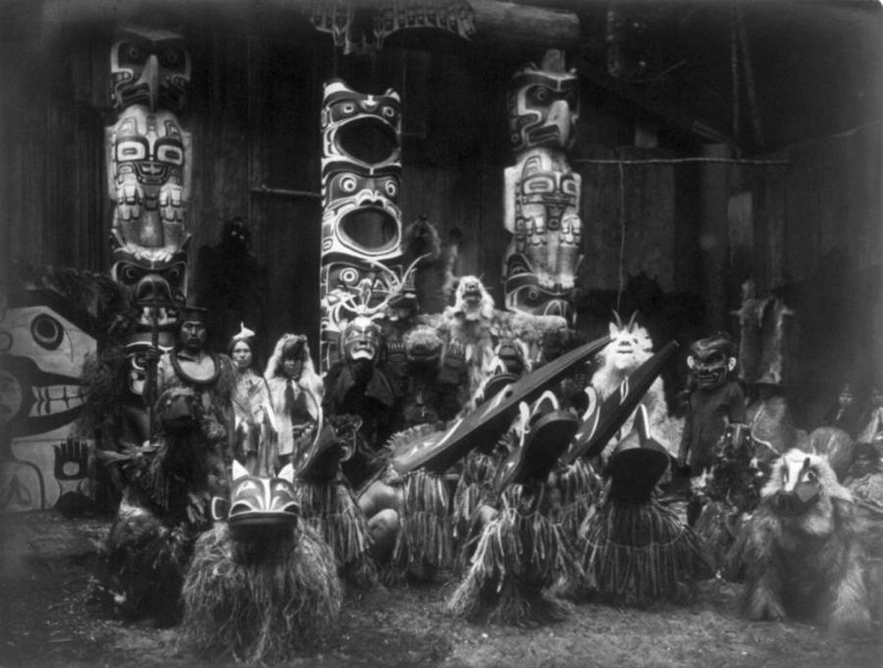 Cerimônia indígena