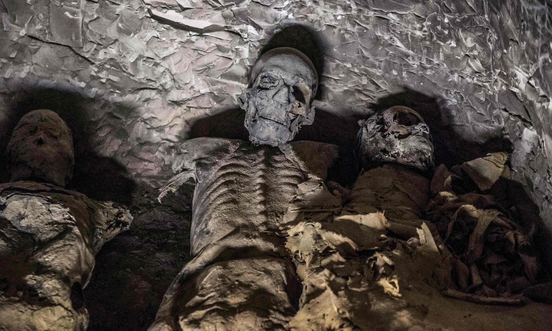 Corpos mumificados
