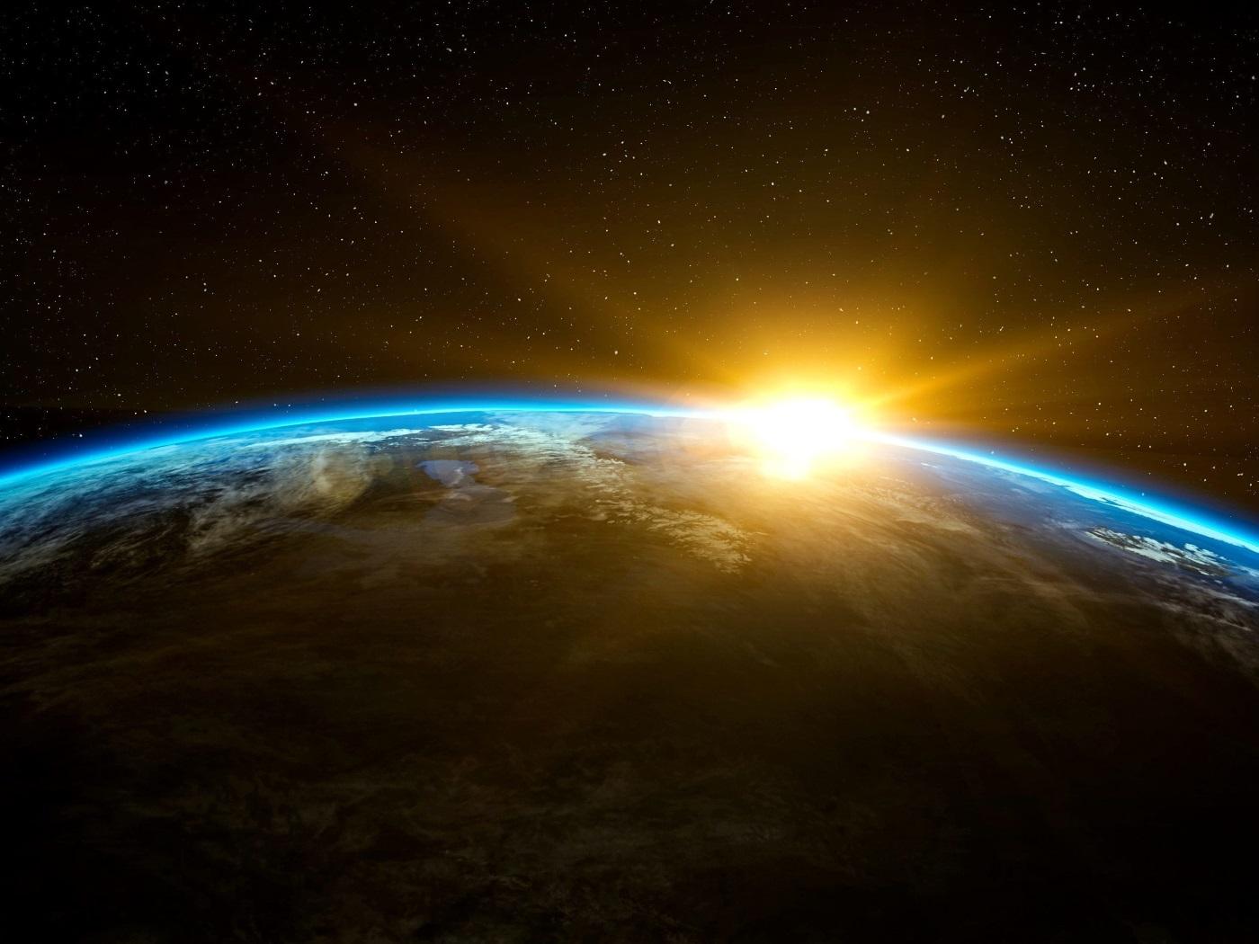 Sol e planeta Terra