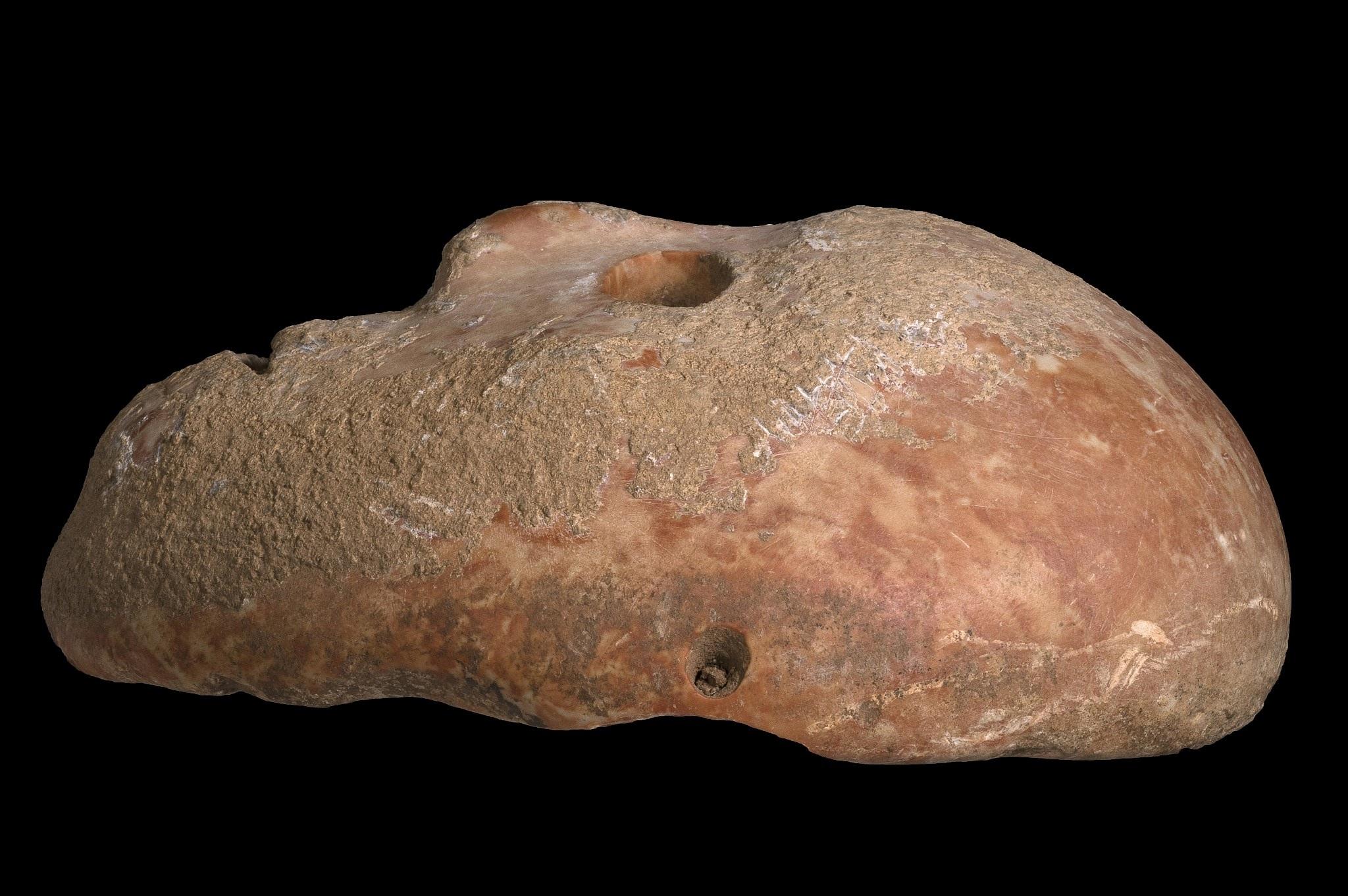 Máscara de pedra