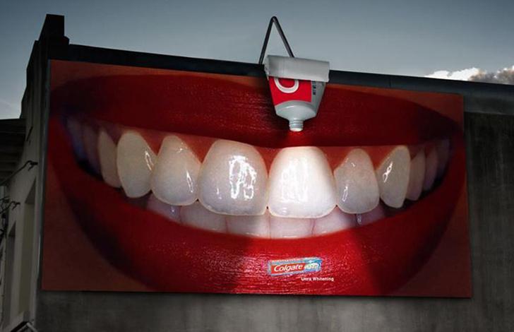 Outdoor de creme dental