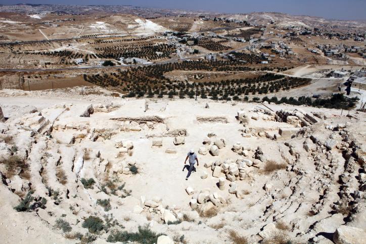 Ruínas em Jerusalém