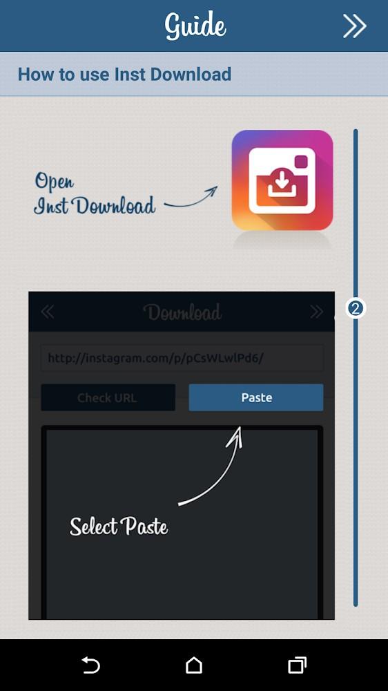 Inst Download - Imagem 2 do software