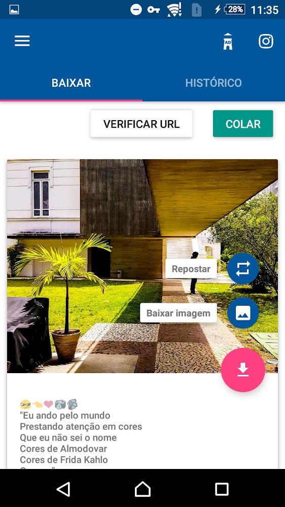 Video Downloader for Instagram - Imagem 2 do software