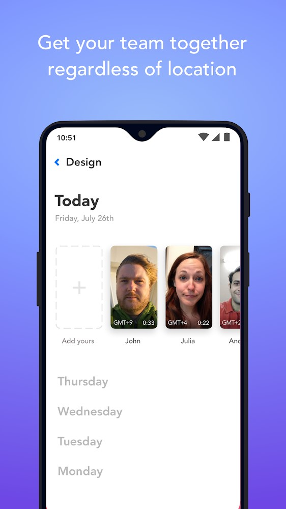 Standups.io - Imagem 1 do software