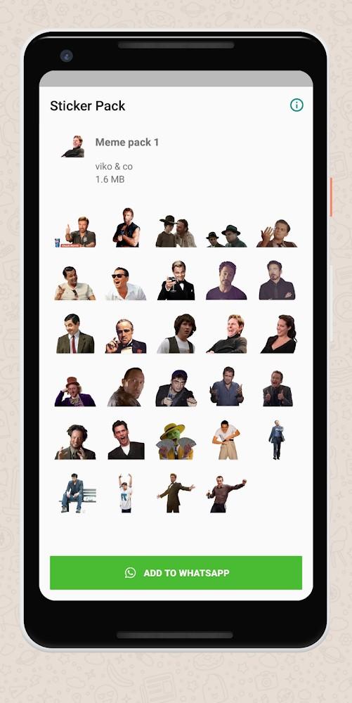 Meme stickers for WhatsApp - Imagem 1 do software
