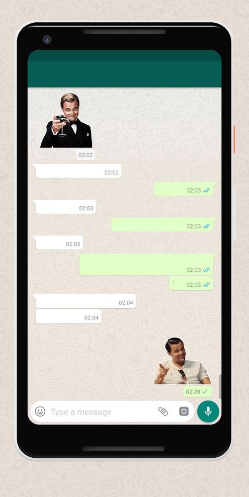 Meme stickers for WhatsApp - Imagem 2 do software