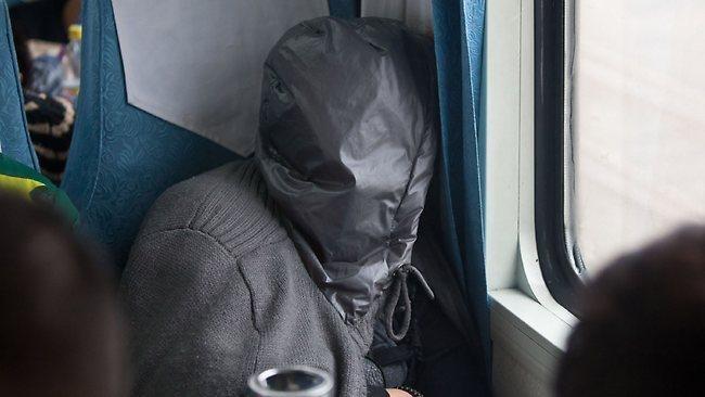 Dormindo no trem
