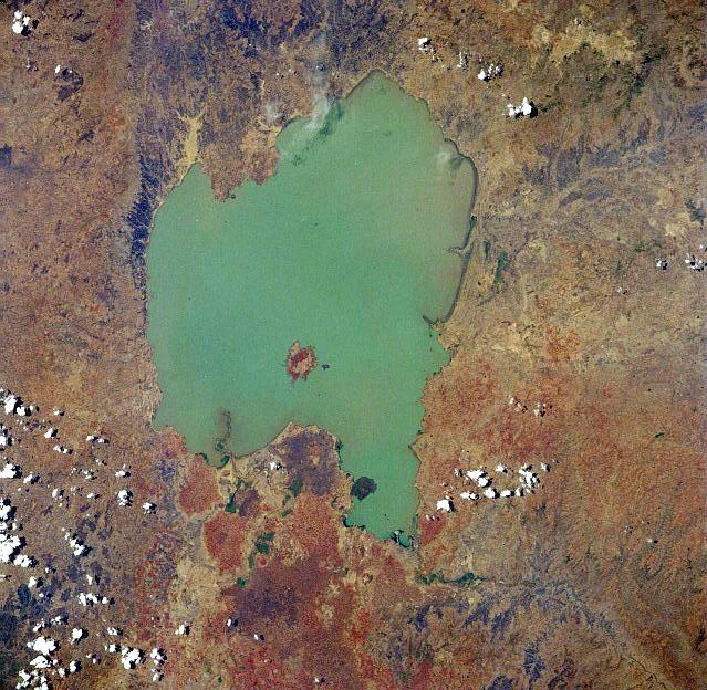 Lago Tana (Crédito: Wikimedia Commons/Nasa)