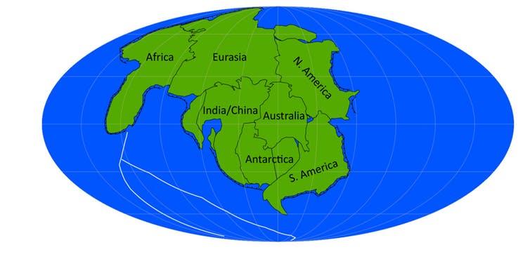 Supercontinente Novopangeia
