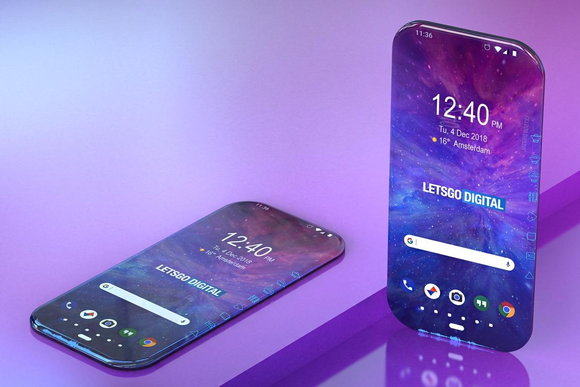 Tem Na Web - Samsung registra patente de um smartphone 100% sem bordas