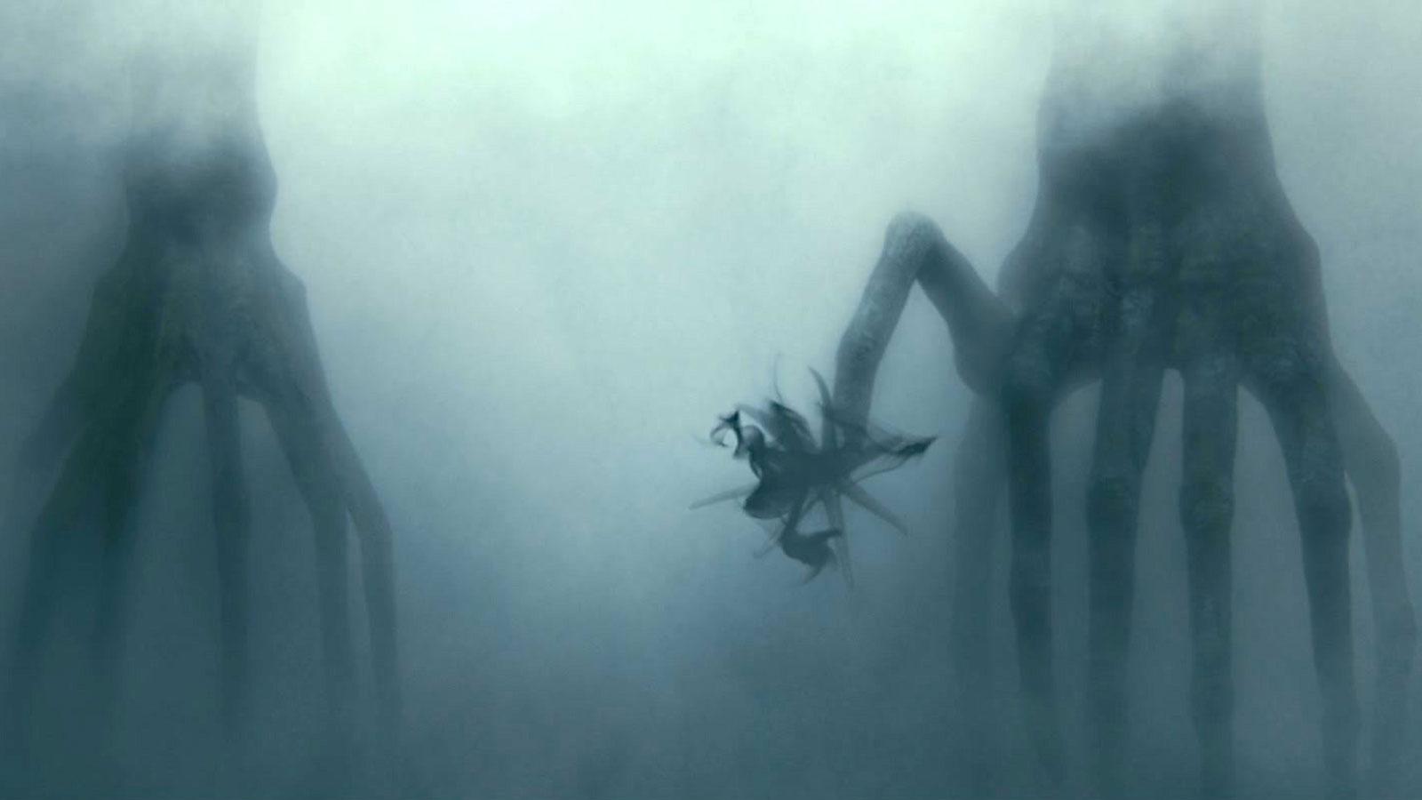 Aliens com tentáculos