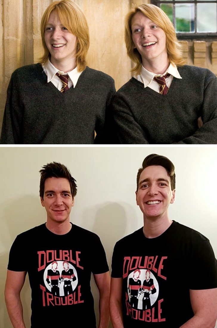 James e Oliver Phelps
