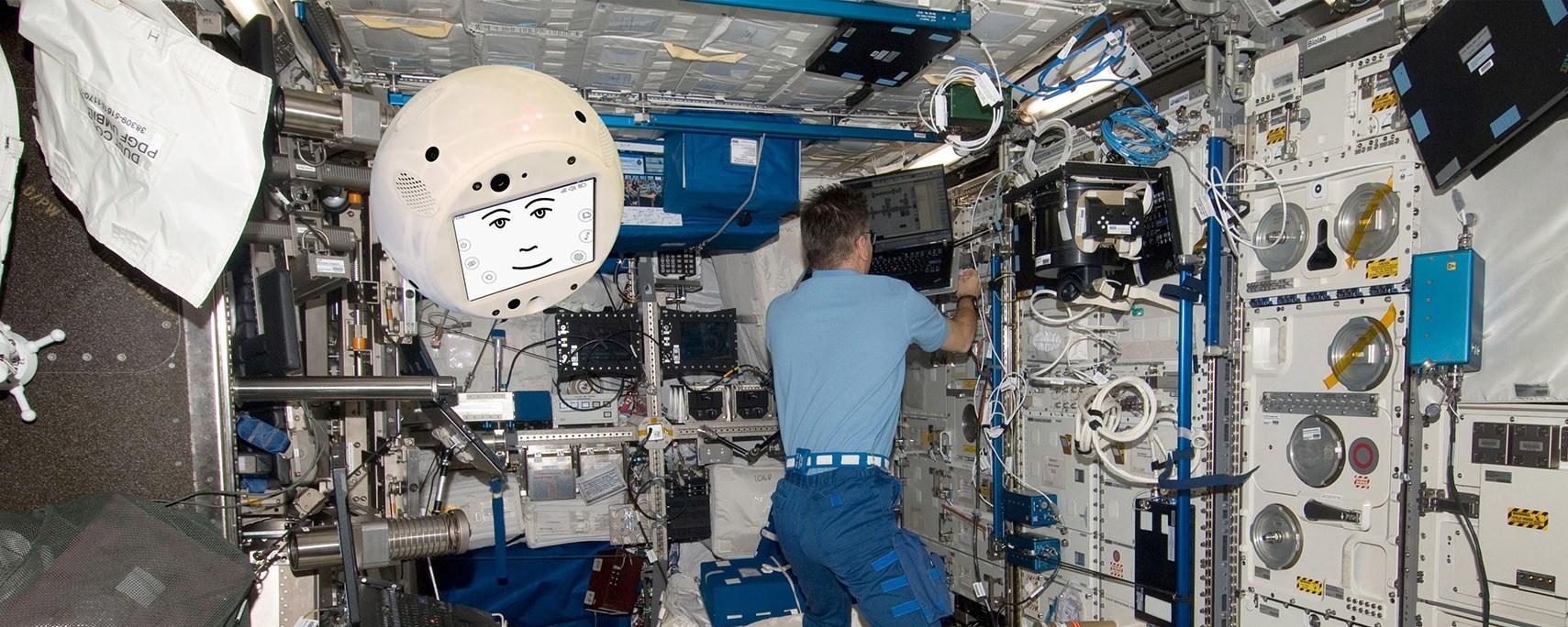 Imagem de: Cimon é o robô com IA que vai ajudar astronautas na Estação Espacial