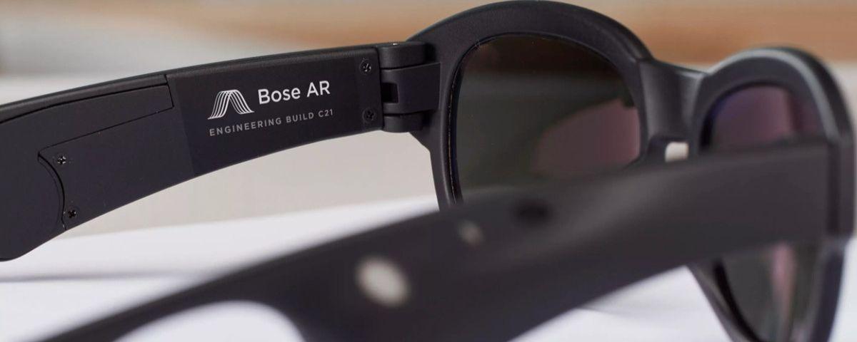 65ecbf542 Imagem de: Bose lança óculos de sol com função para áudio e realidade  aumentada