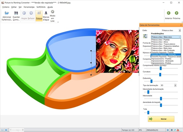 Picture to Painting Converter - Imagem 1 do software