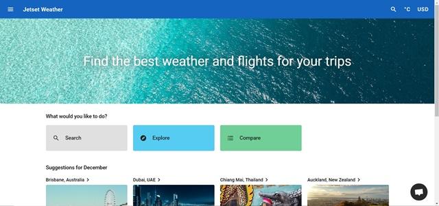 Jetset Weather - Imagem 1 do software