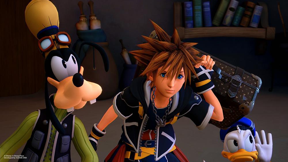 Novas imagens de Kingdom Hearts 3 mostram Tico e Teco, Grilo Falante e mais